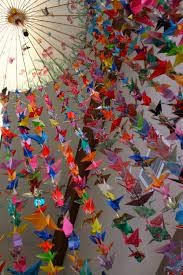 Help us make one of the 500 paper cranes needed!