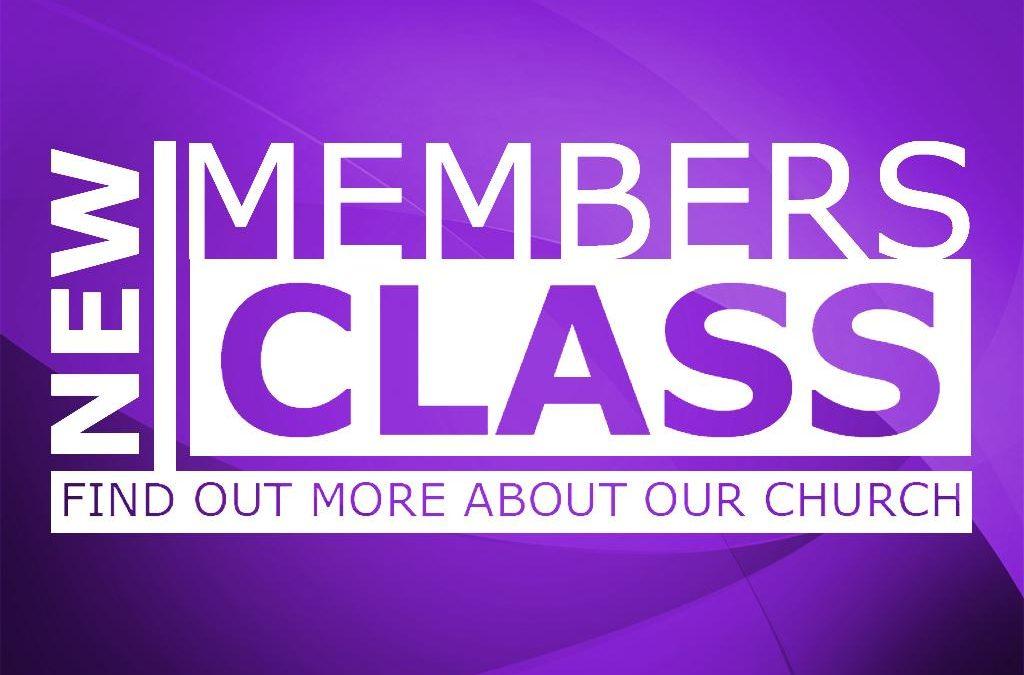 New Member Class!