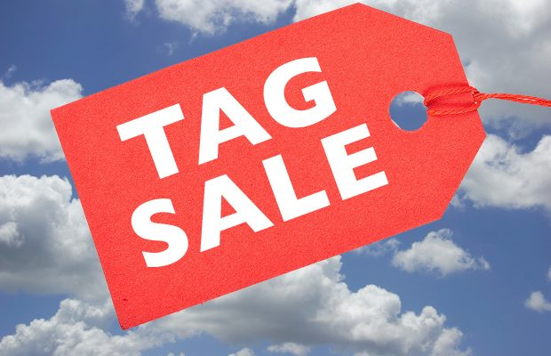 Tag Sale is Back! Saturday, June 5, 2021